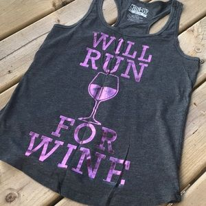 Tops - Will Run For Wine Tank